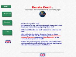 Renate Kühl, Technische Dokumente & Uebersetzungen