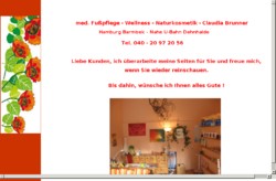 Brunner - med. Fußpflege und Kosmetik