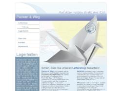 Packen und Weg Lagerraum in Hamburg und Lettershop