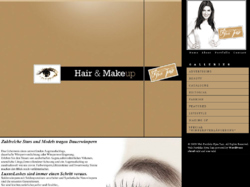 Hair & Make-up Artist/ Visagistin