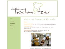 """""""Die kleinen Kochmützen"""" Koch - und Sinnesschule für Kinder"""
