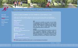 Gesundheitsmanagement durch Bewegung
