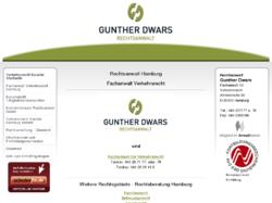Fachanwalt für Verkehrsrecht-Gunther Dwars