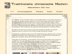Traditionelle chinesische Medizin Qian Hold