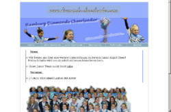Hamburg Diamonds Cheerleader