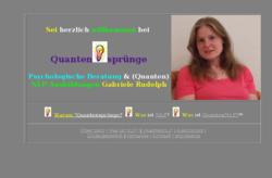 Quantensprünge - Psychologische Beratung, Coaching & NLP-Ausbildungen