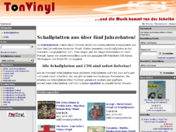 Schallplatten Shop tonvinyl