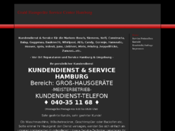 Grahl Hausgeräte Service Center Hamburg
