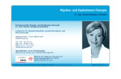Dr. med. Annette Beckmann-Reinholdt, Fachärztin für Allgemeinmedizin, Naturheilverfahren und Psychotherapie