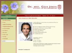 Praxis Dr. med. Géza János