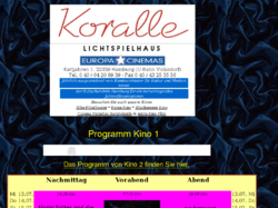 Koralle-Kino im Bürgerhaus Volksdorf