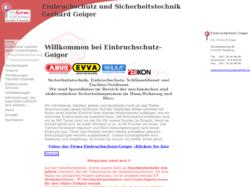 Einbruchschutz-Geiger Schlüsseldienst & Sicherheitstechnik