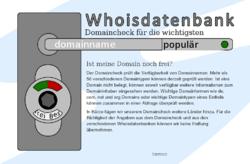 Whoisdatenbank