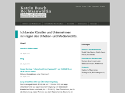 Anwaltskanzlei Busch / Recht für Kreative