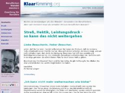 KlaarKimming.org: Beruflichen Wandel meistern - Coaching für Sensible