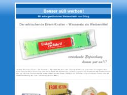 Originelle Werbeartikel aus Süßwaren