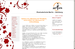 perform Musicalschule Hamburg