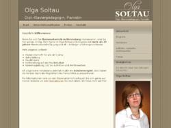 Olga Soltau, Pianistin