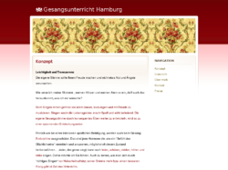 Gesangsunterricht in Eimsbüttel