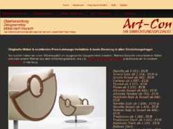 Art-Con - Ihr Einrichtungsspezialist - Möbel aller Art
