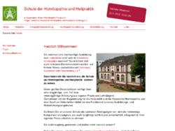Schule der Homöopathie und Heilpraktik