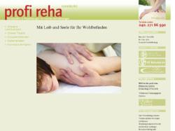 profi reha hamburg Privatpraxis für Physiotherapie und Osteopathie  Rainer Halbleib