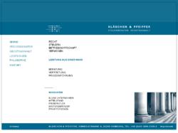 KLÄSCHEN & PFEIFFER Steuerberater Rechtsanwalt Partnerschaft