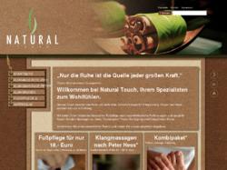 Natural Touch, der Spezialist aus Hamburg für Ihr Wohlfühlgefühl