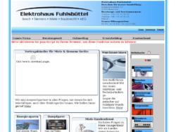 Elektrohaus Fuhlsbüttel     ehem. Waschmaschinen-Klinik