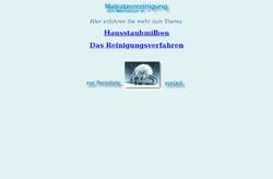Milbenjäger Nr.1 mobile Matratzenreinigung