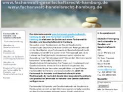Informationsportal Fachanwalt Gesellschaftsrecht Hamburg
