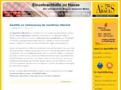 ABACUS Blog zur Nachhilfe in Hamburg