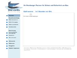 bhd-cordts Bausicherung GmbH & Co.KG Baustelleneinrichtung