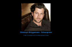 Schauspiel Christoph Brüggemann