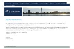Axel Marfels, Unabhängige Wirtschaftsberatung, Immobilien, Hausverwaltung und Versicherungen