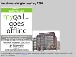 Kunstausstellung mygall goes offline
