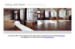 Klang und Raum