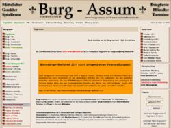 Die Mittelalterseite - Burg Assum