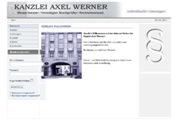 Kanzlei Dipl.-Kfm. Axel Werner, Steuerberater, Vereidigter Buchpfrüfer, Rechtsbeistand