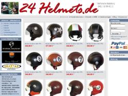 24Helmets.de - Helme, Motorradbekleidung & Accessoires