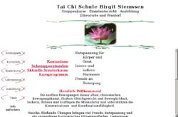 Tai Chi Schule Birgit Siemssen