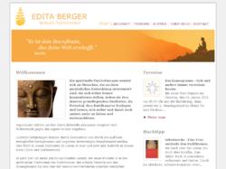 Edita Berger - Spirituelle Psychotherapie, Einzel und Paarberatung, Telefonberatung in Hamburg