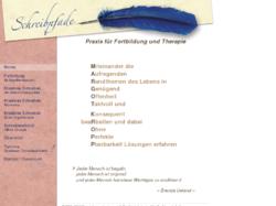 Schreibpfade - Praxis für Fortbildung und Therapie