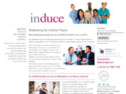 induce UG - Marketing für Arzt und Praxis