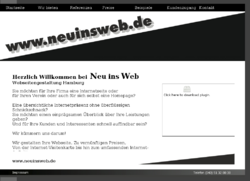 Neu ins Web - Webseitengestaltung