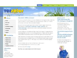 VerSolar - Versicherungslösungen für erneuerbare Energien