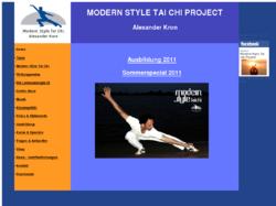 Modern Style Tai Chi Project