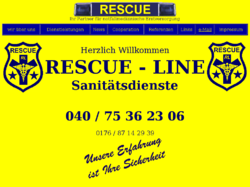RESCUE - LINE · Sanitätsdienste