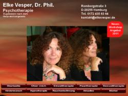 Dr. Elke Vesper, Praxis für Psychotherapie (gem. Heilpraktikergesetz)