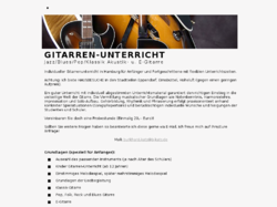 Gitarrenunterricht in Hamburg